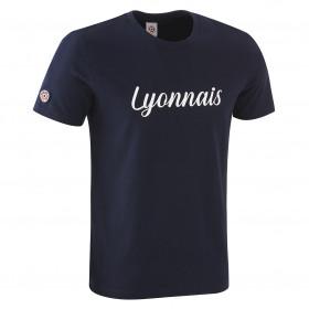 """T-Shirt """"Lyonnais"""" Bleu"""