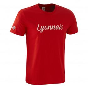 "T-Shirt ""Lyonnais"" Rouge"