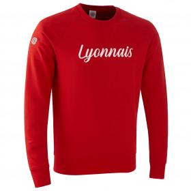 "Sweat ""Lyonnais"" Rouge"