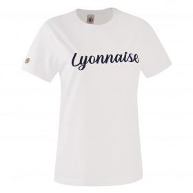 """T-Shirt """"Lyonnaise"""" Blanc"""
