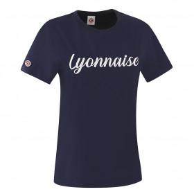 "T-Shirt ""Lyonnaise"" Bleu"