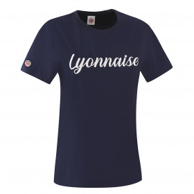 "T-Shirt ""Lyonnaise"" Blue"
