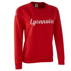 "Sweat ""Lyonnaise"" Rouge"