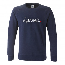 "Sweat ""Lyonnais."" Navy Old"