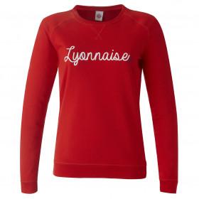 Sweat Lyonnais Rouge...