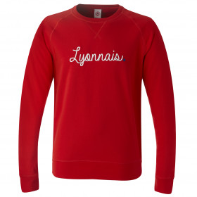 Sweat Lyonnais Rouge