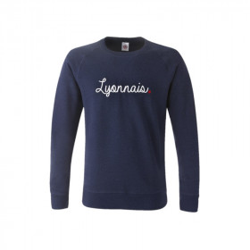 Sweat Lyonnais Junior Navy...